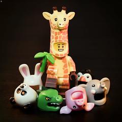 Costume King (Jezbags) Tags: costume king giraffe toy toys lego legos minifigure minifigures canon canon80d 80d 100mm macro macrophotography macrolego macrodreams legomovie2