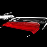 1961 Cadillac Tail Fin Light Disassembled Exploded View thumbnail