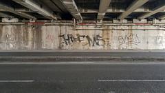 Sotto il ponte (tullio dainese) Tags: 2019 bologna graffiti muri muro strada strade street streets wall walls