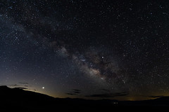 Heaven and Hell (James Marvin Phelps) Tags: deathvalleynationalpark nationalpark deathvalley hellsgate milkyway stars shootingstar astrophotography photography jamesmarvinphelps jamesmarvinphelpsphotography