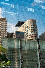 Traditional reflected in the modern (elcio.reis) Tags: fotografiaderua sãopaulo nikon paulista brazil reflexo reflection brasil streetphoto br architecture