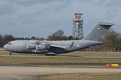 1230 Boeing C-17A Globemaster III United Arab Emirates Air Force Stansted 02nd March 2019 (michael_hibbins) Tags: 1230 boeing c17a globemaster iii united arab emirates air force stansted 02nd march 2019 military mil defence strategic transport freight freighter jet jets aeroplane aerospace aircraft aviation airplane aero airfields airport airports civil commercial plane planes