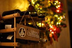 Merry Christmas everybody! (jimiliop) Tags: christmas lights bottles wine bar noedit atmosphere