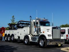 Monster Kenworth Recovery Truck (J Wells S) Tags: kenworthrecoverytruck kw kenworthtowtruck kenworthwrecker dualsteer chrome trao towingandrecoveryassociationofohio midwestregionaltowshow greatwolflodge mason cincinnati ohio