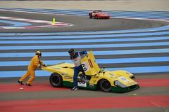 LIGIER JS3 DFV - 1971 (SASSAchris) Tags: ligier js3 dfv voiture française endurance 10000 tours castellet circuit ricard accident