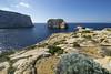 Fungus Rock (albireo 2006) Tags: gozo malta dwejra fungusrock cliffs