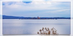 Church on the lake ... South Moravia - Czech Republic (Julie Greg) Tags: church lake photography nature mountains tree colours canon isle water sky grass