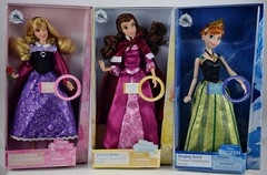 2019 Singing Dolls - Aurora, Belle and Anna - Disney Store Purchase - Boxed (drj1828) Tags: disneystore singing boxed purchase 12inch aurora princess anna belle briarrose groupphoto box
