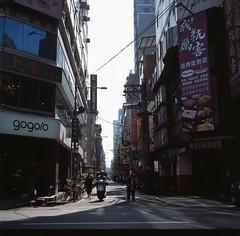 BanQiao (li-penny) Tags: banqiao film taiwan street newtaipeicity 6x6 minoltaautocord fujifilmprovia400x 台灣 底片 120 板橋