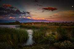 Sunset Over Clear Creek (Brad Prudhon) Tags: 2018 arizona mchoodparkcampground october winslow