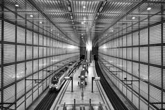 Would you like to spend more than 5 minutes here (micagoto) Tags: leipzig sbahn station bahnhof unterirdisch architektur db bahn zug train wilhelmleuschnerplatz talent2 et442