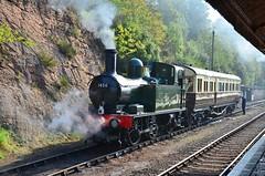 Auto train at Bewdley (davids pix) Tags: 1450 gwr collett preserved steam locomotive auto train bewdley severn valley railway 2015 19092015