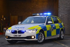 CN18 SWF (S11 AUN) Tags: durham constabulary bmw 330d 3series xdrive touring anpr police traffic car rpu roads policing unit 999 emergency vehicle cn18swf