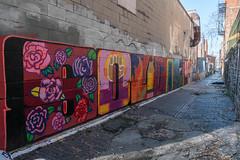 Bolivar Alley (pasa47) Tags: 2019 march fujifilm fujixe1 1855mm spring cincinnati ohio oh pendleton alley graffitialley bolivaralley