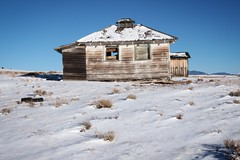 Abandoned Ranch (lars hammar) Tags: snow winter colorado fairplay southpark house abandoned abandonedhouse