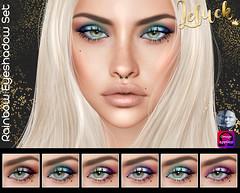 [LeLuck]Rainbow Eyeshadow Set (Sunkora) Tags: secondlife genus omega suicidedollz new eyeshadow applier leluck rainbow event