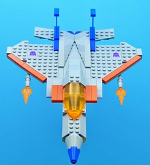 Starscream Attacks (Hobbestimus) Tags: lego moc transformers starscream 80s cartoon toys
