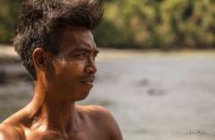 The boatman (Street Snaps) Tags: thailand boatman island portrait summer closeup