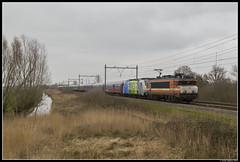 Rail Experts 9901 + BTE 186 295, Portengen (J. Bakker) Tags: rail experts rxp bte bahn touristik express 9901 9900 1800 alstom bombardier traxx br186 186 295 alpen 70451 portengen nederland railpool