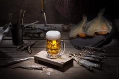 KHRD1384 (akhardin) Tags: rekam владивосток dark wood fish smelt stillife khardin 1dx rustic noir canon vladivostok beer phottix