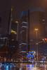rainy night (David S.M.) Tags: rain night nightscape travel euro lights buildings skyscrapers office business frankfurt germany cars street streetlight cityscape city
