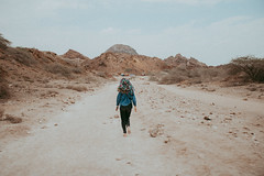 lost in the mountains (ghazalkohandel) Tags: landscape mountains mountain girl nature