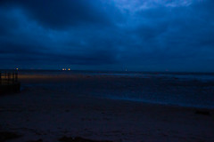 365-23 Blue hour (Ruth_W) Tags: 365the2019edition 3652019 day23365 23jan19 hoylake merseyside