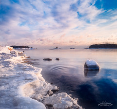 Winter day (Joni Salama) Tags: talvi lauttasaari vesi luonto meri helsinki suomi lumi uusimaa finland fi winter snow landscape seascape