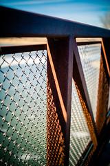 Shadows (rg69olds) Tags: 40mm f14 canoneos5dmarkiv canondigitalcamera nebraska sigma40mmf14artdghsm wehrspannlake canon omaha plants sigma fence shadows bridge tubing 5dmk4 40mmf14dghsm|a