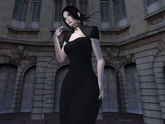 Entrance no.369 (Curiosse) Tags: dress long bolero 2019 new release february black elegant virtue