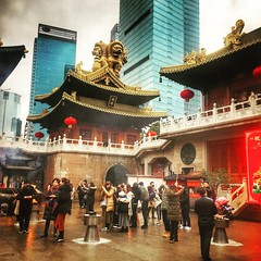 JingAn Temple (TchinChine !) Tags: shanghai china jingan temple 中国 静安寺 上海
