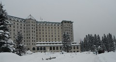 Lake Louise Banff Parkway Canada (Mr. Happy Face - Peace :)) Tags: canada chateau fairmount hotel lakelouise winter 25years outdoors hww sleigh ride art2019 flickrfriends love interesting activities albertabound banff cans2s