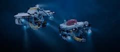 The Abyss (Faber Mandragore) Tags: lego moc sci fi theabyss the abyss movie 1989 submarine deep diver cab1 flatbed post production james cameron jamescameron ron cobb roncobb faber mandragore fabermandragore