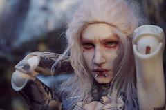 Travel in the woods 3 (Nattmaran) Tags: bjd doll black metal varg blond simply divine thomas loongsoul