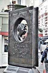 Agatha Christie (stavioni) Tags: agatha christie writer book bronze sculpture statue scuplture london