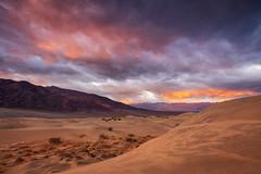 Awake & Dissolve (dsafanda) Tags: deathvalley deathvalleynationalpark desert california mesquiteflats sanddunes
