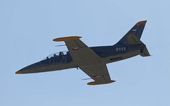 "Aero L-39C ""Albatros"" @ LKMT (stecker.rene) Tags: aero l39 l39c albatros 0115 trainer aerialdisplay flyingdisplay airshow military clv czechairforce czech airforce czaf blue sky nato natodays natodays2018 2018 lkmt osr ostrava morava canon eos7d markii tamron 150600mm canopy vodochody flying flypast"