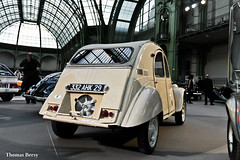 Citroën 2CV Sahara 1962 (tautaudu02) Tags: citroën 2cv sahara vente bonhams 2016 paris grand palais auto moto cars coches voitures automobile