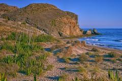 Cala del Barronal. (ZAPIGATA) Tags: cabodegata almeria andalucia paisaje playa nijar beach landscape waterscape sunset zapigata