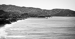 Pacific coast (mgschiavon) Tags: blackandwhite blackwhite bw sea nature landscape california ontheroad
