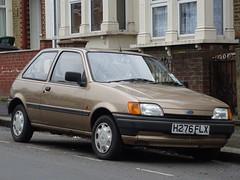 1990 Ford Fiesta 1.1 LX (Neil's classics) Tags: vehicle 1990 ford fiesta 11lx car