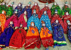 The life of puppet !! (Lopamudra !) Tags: lopamudra lopamudrabarman lopa puppet creative colour color colours colourful jaipur rajasthan rajastan india decorative tradition life philosophy