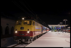 AKE E10 1309, Schladming 30-12-2017 (Henk Zwoferink) Tags: alpenexpress ae railexperts bahntouristikexpress bte henkzwoferink e101309 ake smartrail schladmingsteiermarkaustriaat