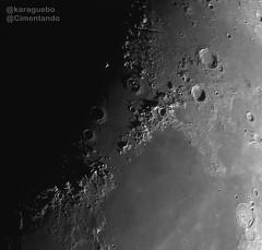 Luna 2019-03-13 - 21:02 T.U. (karaguebo) Tags: luna moon astrophotography celestron astronomía astrofotografía asi178mm zwo bresser astronomy astro astrophoto