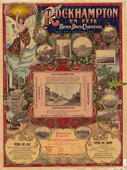 Rockhampton en fete, Seven Days Carnival poster, 1908 (Queensland State Archives) Tags: rockhampton seven days carnival 635197 1908 queensland poster graphic design art fete rochamptonfete 1900s sevendayscarnival posterdesign northqueensland