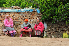 Oum Rabiaa (Arnadel) Tags: femmes women rest palaver morocco maroc oumrabiaa rivière river cascade repos palabre discussion