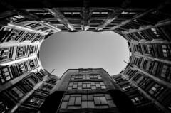 Gotham (Flaquivurus) Tags: blackandwhite architecture barcelona lapedrera gaudí