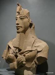Akhenaten (Amenhotep IV), Luxor Museum (5).JPG (tobeytravels) Tags: thebes egypt amonispleased aten usefulforaten newkingdom sandstone eastkarnak