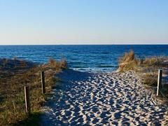 Strandzugang 26 Graal-Müritz (Meine Sicht auf diese Welt...) Tags: strand graalmüritz ostsee sand buhnen dühne zugang frühjahr horizont blick