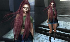 Somewhere (Fashion Euphoria by Euphoria Boyington) Tags: revoul sintiklia cynful spirit chicchica euphoric lejin lootbox collabor88 catwameshhead secondlife secondlifebloggers secondlifefashion secondlifeevents